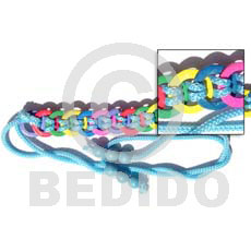 Multicolored ring coco belt Belts