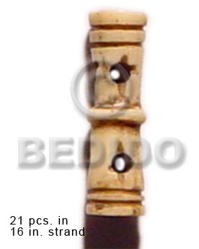 Natural bone tube groove