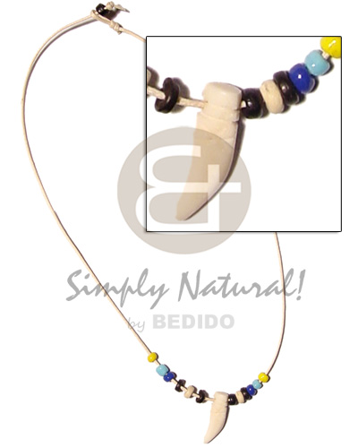 Cord 4-5 coco pokalet Choker Necklace