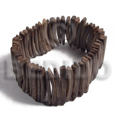 hand made 3in coco natural brown sticks Coco Bangles
