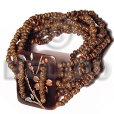 10 layers elastic 2-3mm coco Coco Bracelets