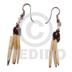 Coco indian stick wood Coco Earrings