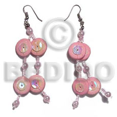 Dangling coco side drille in Coco Earrings