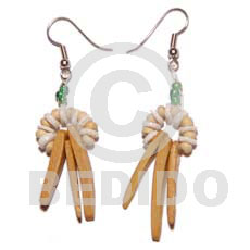 Dangling coco indian stick Coco Earrings
