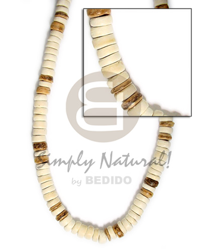 7-8mm coco pokalet bleach wht tiger Coco Necklace