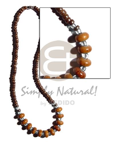 4-5mm Coco Pokalet. Natural Brown
