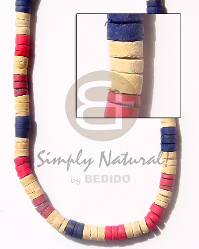 7-8 coco heishe bleach Coco Necklace