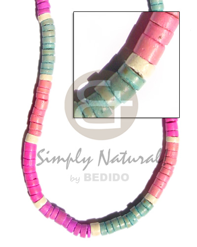 7-8 elastic coco heishe in Coco Necklace
