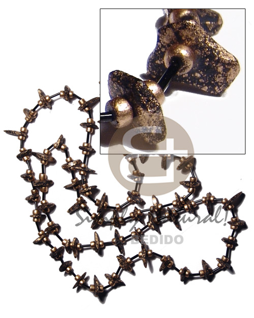 4-5mm coco pokalet cut Coco Necklace
