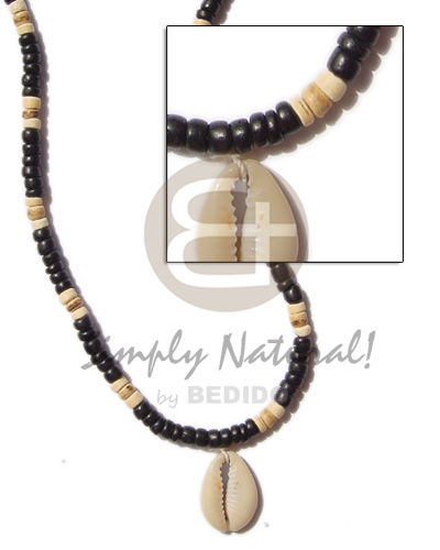 4-5 coco pokalet black Coco Necklace