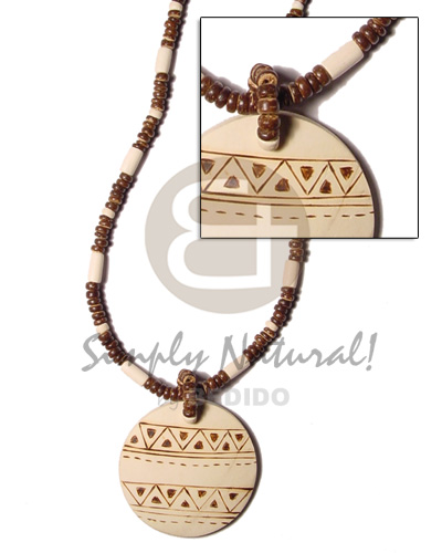 4-5 mm coco pokalet brown Coco Necklace