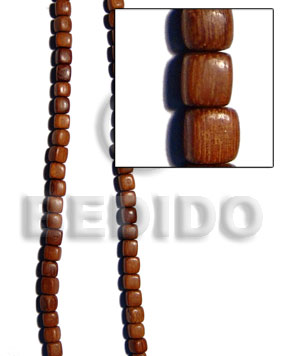 Bayong dice 10mm Dice & Sided Wood Beads