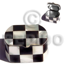 Stainless metal casing inlaid Gifts & Home Table Decor Set