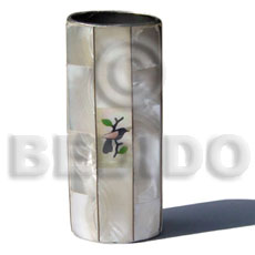 Inlaid troca lighter case Gifts & Home Table Decor Set