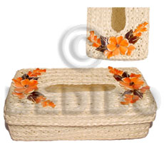 hand made Rectangular tissue box holder Gifts & Home Table Decor Set