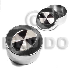 Stainless metal round casing Gifts & Home Table Decor Set