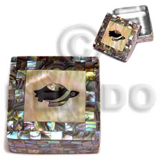 Stainless square metal casing Gifts & Home Table Decor Set