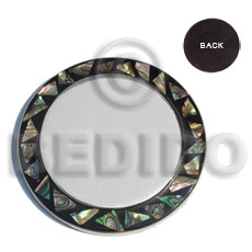 Stainless metal coaster inlaid Gifts & Home Table Decor Set
