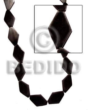 Black Horn Diamond 25mmx15mm