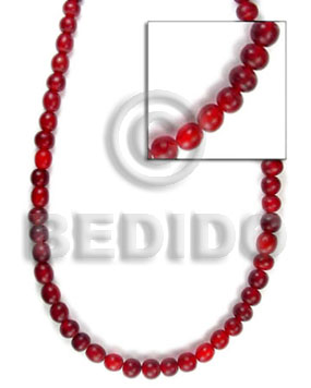 Red Horn Beads 4-5mm