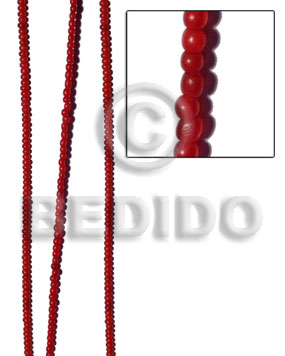 Horn Round Beads