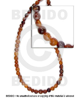 hand made Graduated amber horn beads Horn Teardrop Beads