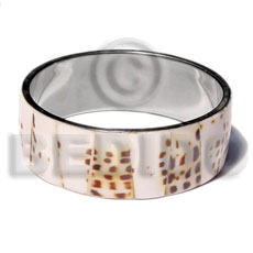 Inlaid Metal Bangles
