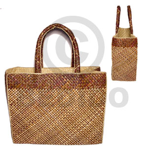Pandan ceria bag large Native Bags