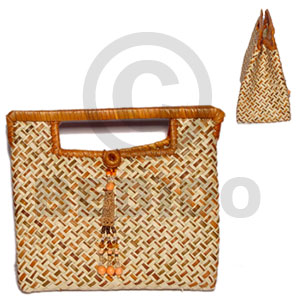 Pandan banggay bag small 8x4x7 Native Bags