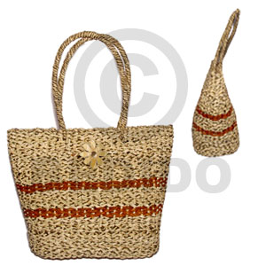 Pandan long braided large 10 Native Bags