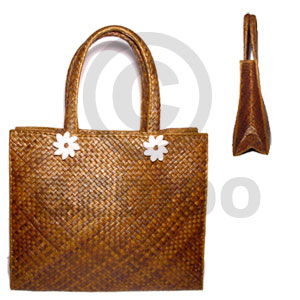 Pandan indo colored large 14x5x12 Native Bags