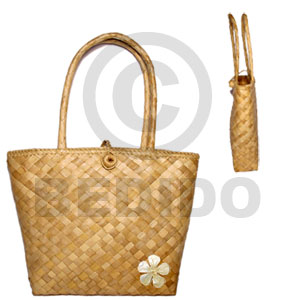 Pandan sofia bag 9x21 2x9 in. Native Bags