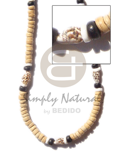 Coco pokalet nat nassa Natural Earth Color Necklace