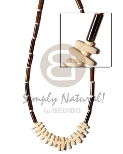 Coco stick necklace