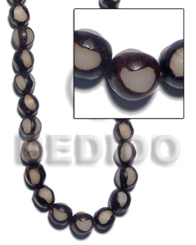 hand made Buri sliced bead seeds Round Seed Beads