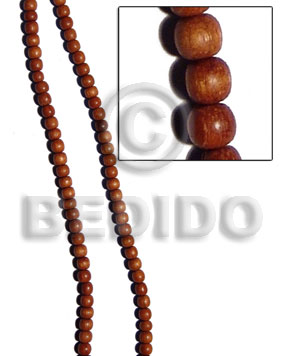 bayong round wood beads 4-5mm/duplicate  016wb - Round Wood Beads