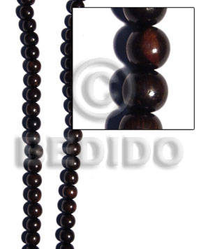 Camagong Tiger Wood Beads 12mm