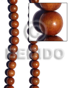 Bayong round wood beads 15mm Round Wood Beads