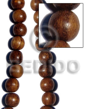 hand made Robles round wood beads 25mm Round Wood Beads