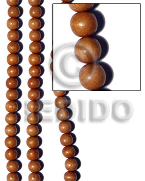 Bayong beads 15mm duplicate 209wb Round Wood Beads