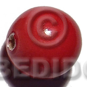 25mm natural wood beads Round Wood Beads