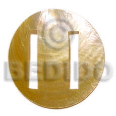Round mop buckle 60mm Sarong Shell Buckle