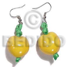 Dangling Yellow Kukui Nuts