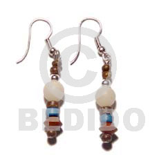 Dangling Buri Beads 4-5mm Coco Pokalet Wood