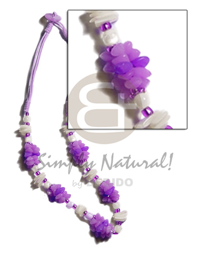 Lavender 3 Layer Wax Cord