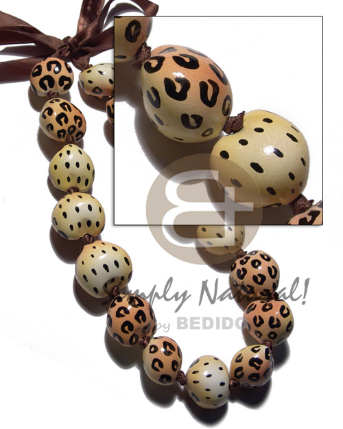 Kukui Seeds In Animal Print