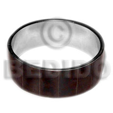 Laminated blacktab in 1 inch Shell Bangles