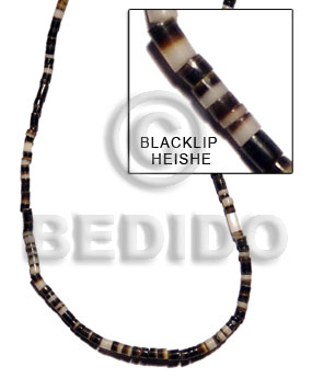 2-3mm black lip heishe Shell Beads