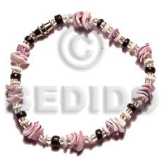 Cebu beauty white clam Shell Bracelets