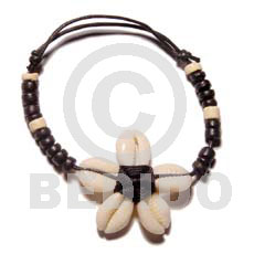 Flower sigay 4-5 coco Shell Bracelets